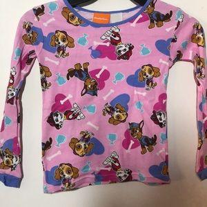 Paw Patrol pajama shirt